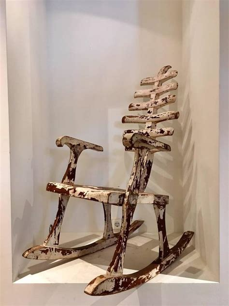 foto de Skeleton Rocking Chair At 1stdibs In Bascombe Mania