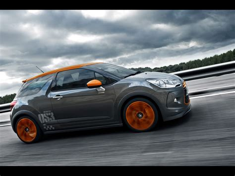 2018 Citroen Ds3 Racing Side Angle Speed 1024x768