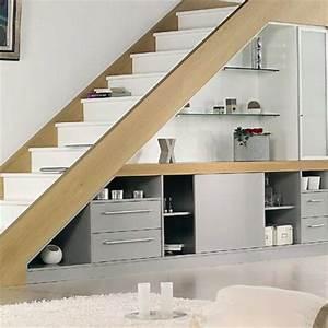 Aménagement Sous Escalier : agencement am nagement de sous pente et sous escaliers hom in ~ Preciouscoupons.com Idées de Décoration