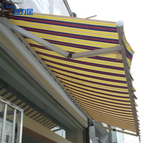 waterproof outdoor retractable awning awning canopy carport shade canopy folding retractable