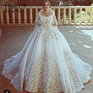 top customized big train arab wedding dresses 2017 luxury With arabian dresses wedding