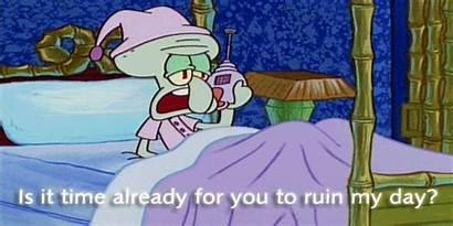 Spongebob Squidward Nickelodeon Quotes Gifs Angry Ruin