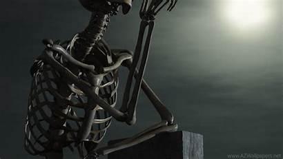 Skeleton Wallpapers Cool 3d Skeletons Laptop Stone