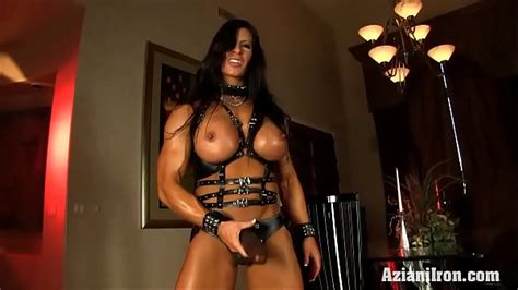 Aziani Iron Angela Salvagno In Leather With Strap On