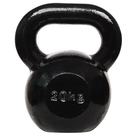 kettlebell iron cast dkn 20kg kettlebells weight