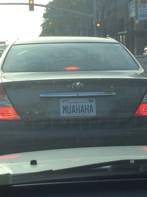 Vanity Plates - muahaha 25 insanely clever license plates you wish you d