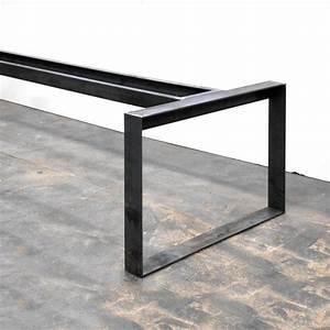 Pied De Table En Acier : denis romainville tables am nagement int pinterest ~ Teatrodelosmanantiales.com Idées de Décoration