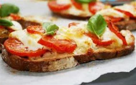 recette bruschetta tomate mozza facile économique et