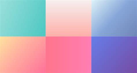 beautiful color gradients    design project