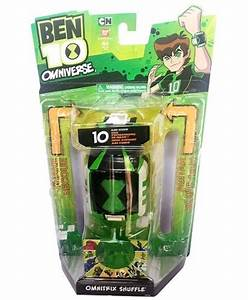 BANDAI BEN 10 OMNIVERSE OMNITRIX SHUFFLE LIGHT & SOUNDS ...