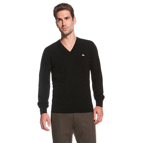 mens v neck sweater black v neck sweater for mania