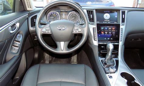 infiniti q50 interior 2015 infiniti q50 review wheels ca