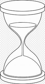 Hourglass Drawing Coloring Clip Hour Glass Clock Favpng sketch template