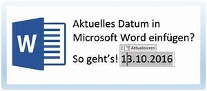Word Datum Automatisch Berechnen : windows 10 tipps tricks anleitungen ~ Themetempest.com Abrechnung