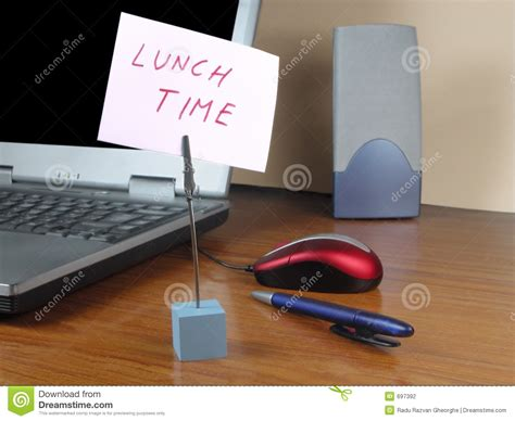 Lunch time at the office stock photo. Image of corporation ...