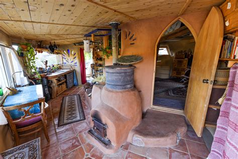 grid desert living   tiny earthen home permaculture community eco snippets