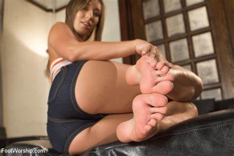 You Are Our New Foot Lick Lifter New Babe Haunches Screwed
