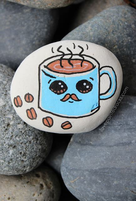 paint  cute coffee mug   mustache  love