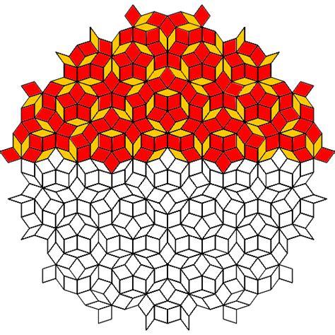 penrose tiling golden ratio penrose tiling and phi the golden ratio phi 1 618