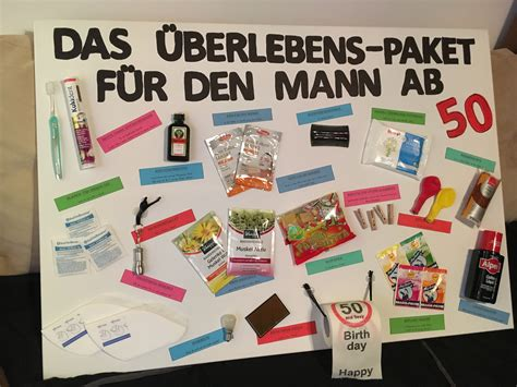 Geschenk Für 50 by Das 220 Berlebenspaket F 252 R Den Mann Ab 50 Geschenke
