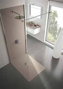 Panneau Stratifié Mural Salle De Bain : panneaux muraux pour votre salle de bain espaces de douche ~ Premium-room.com Idées de Décoration
