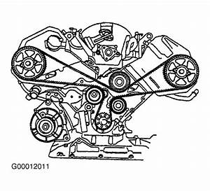 2000 Audi A6 Serpentine Belt Routing And Timing Belt Diagrams