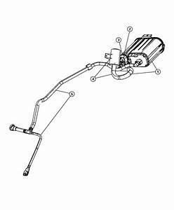 Chrysler Sebring Filter  Fuel Vapor Vent  Canister  Pump