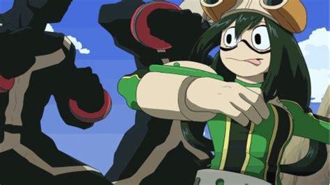 tsuyu  twices  sparkler red panda  hero academia