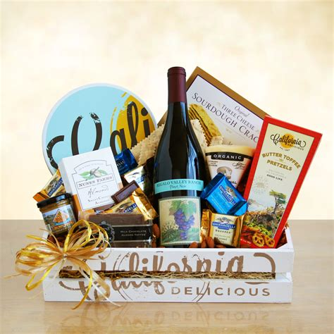 country gifts california wine country gift crate wine lovers shopping mall