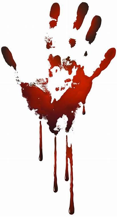 Bloody Clipart Handprint Clip Yopriceville