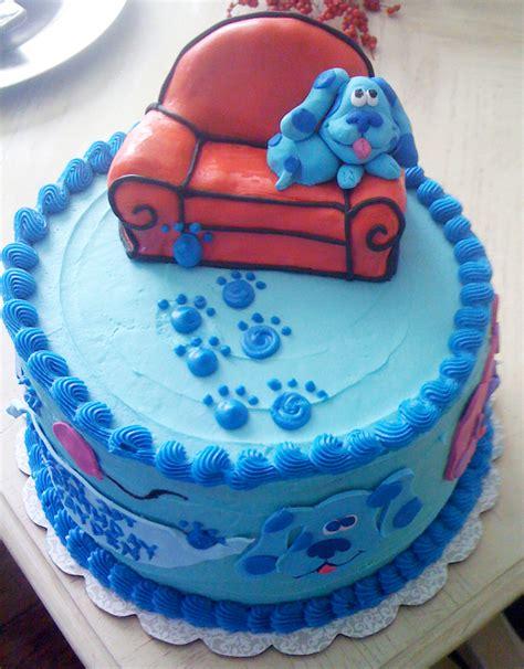 Blue's Clues Birthday Cake Cakecentralcom