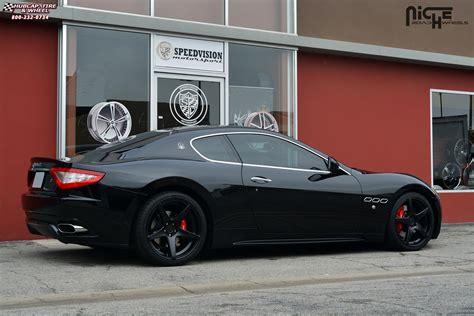 maserati quattroporte niche gt   wheels satin black