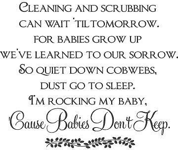 Babies Dont Keep Poem Love This True Wish