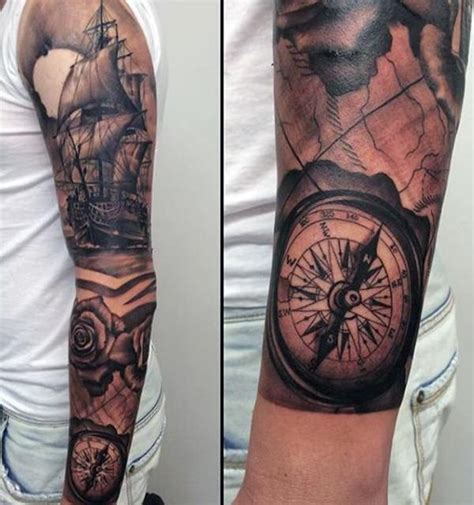 compass tattoo designs wild tattoo art