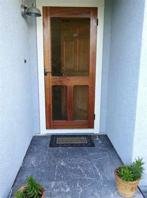 mahogany screen door  storenvy