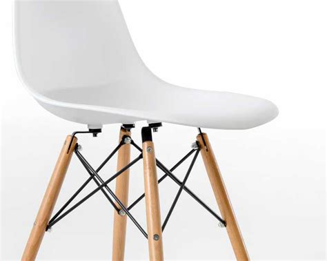 eames furniture eames style white dsw chair cafe side