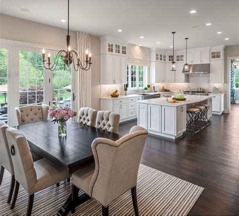 kitchen designs for open plan living 50 inspirational open plan kitchen diner living room 9347