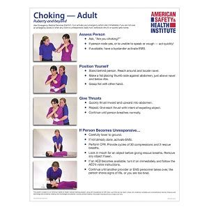 choking poster adult