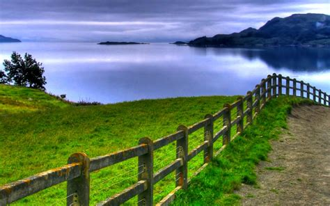 Green Sea View Wallpapers