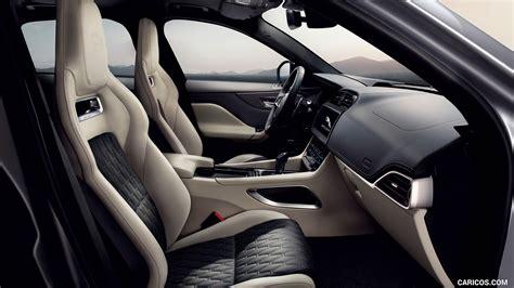 jaguar  pace svr interior front seats hd
