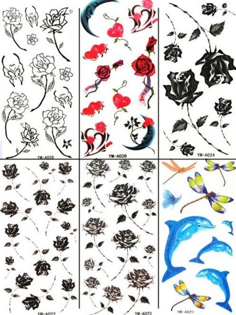 cute temporary tattoos design paper inofashionstylecom