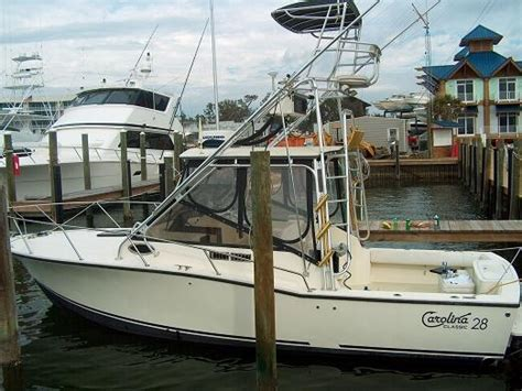 Boat Trader Carolina Classic 28 by 1999 Carolina Classic 28 New Engines The Hull