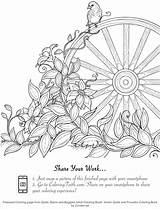 Coloring Pages Amish Faith Quilts Proverbs Barns Buggies Print sketch template