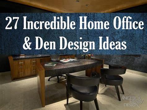 Home Den Design Ideas by 27 Home Office Den Design Ideas By Top Interior