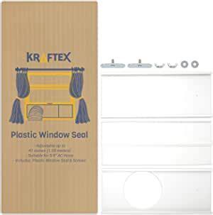 amazoncom portable air conditioner window kit ac window kit seal ac hose
