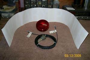 12v Federal Siren  Switch And Harness  Red Light And Decal