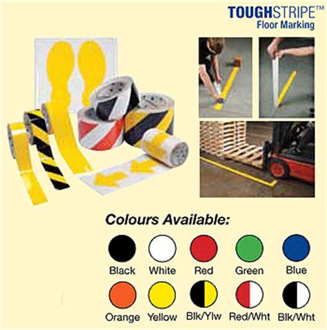 toughstripe die cut floor ls