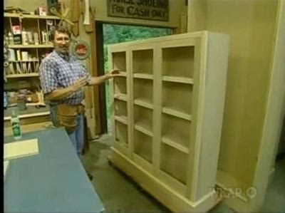 New Yankee Workshop Bookcase by The New Yankee Workshop 18x09 Revival Bookcase Sharetv
