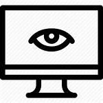 Nsa Surveillance Icon Eye Goverment Monitor Citizen