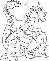 Coloring Pages Dinosaur Dino Sheets Easy Dinosaurs Printable Books Drawing Cartoon Simple Popular Boy Getdrawings Library Clipart Getcolorings Template Coloringhome sketch template